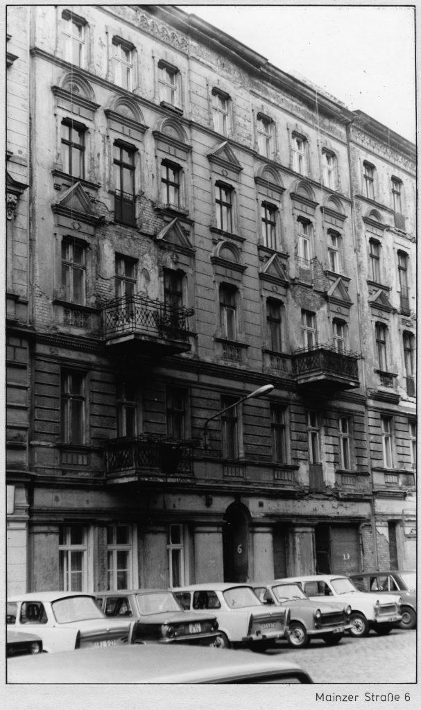Maroder Altbau. Mainzer Straße 6. Foto/Quelle: Landesarchiv Berlin C Rep 110-01 Nr 7080 F 21 © mit freundlicher Genehmigung