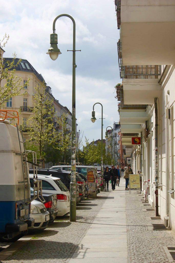 Ansicht Mainzer Straße 7, März 2016. Foto: Charlotte Pinon, Beke Detlefsen